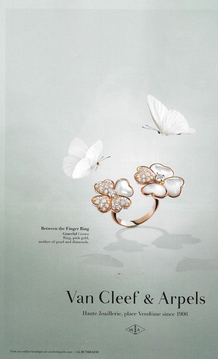 Van Cleef & Arpels Between the Finger Ring Campaign | THE ...