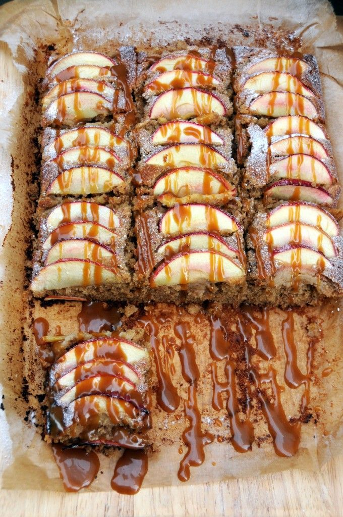 Spiced Toffee Apple Cake (Sarah Cook's Recipe) - Fabulicious Food