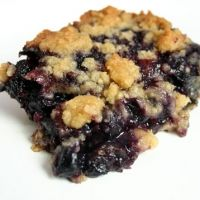 Classic Blueberry Crisp...I remember eating this all the time in grade school:)  YUM!