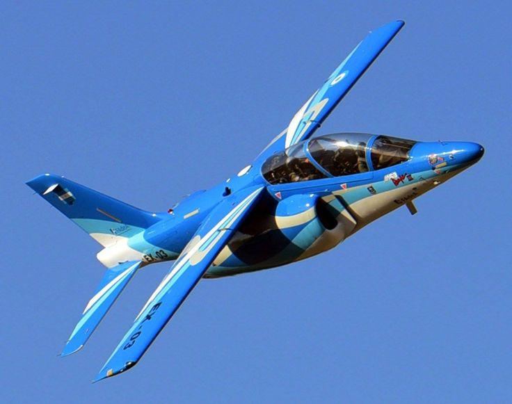 Pampa III EX-03 en vuelo Foto Telam
