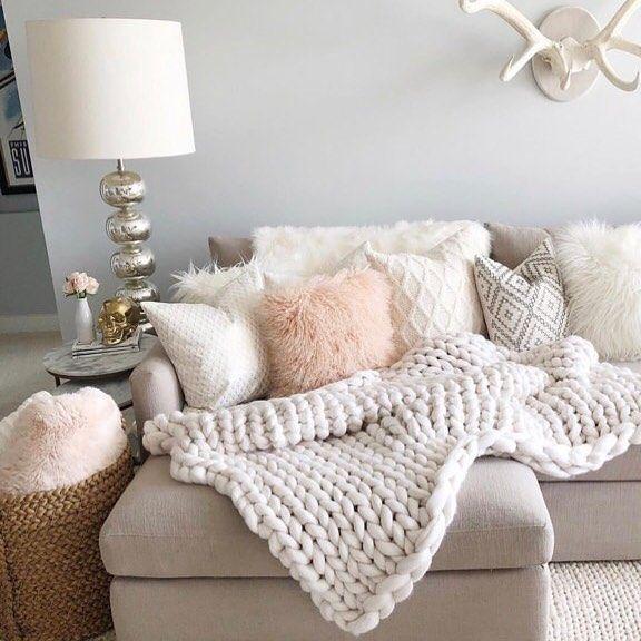 Pin On Pins Via Instagram Girly living room decor ideas