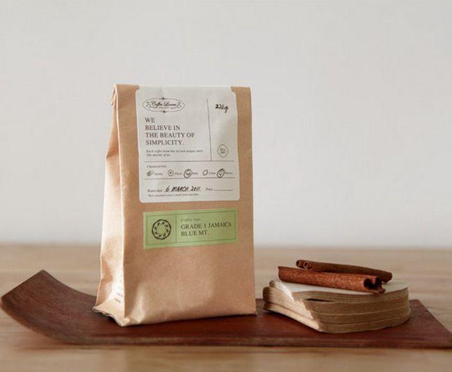 Креативный дизайн упаковки для кофе