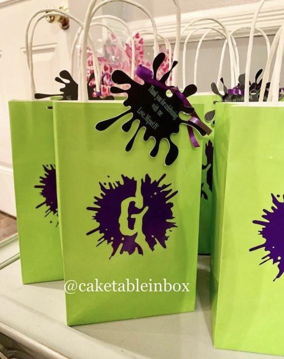Gooseps Goody Bags Cake Topper