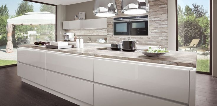 Handle-less German kitchens from Nobilia - Timeless Classic?