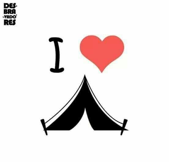Yo amo acampar