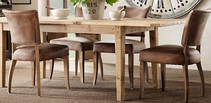 adele | restoration hardware | game table and chairs | pinterest