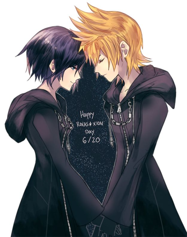 Happy Roxas x Xion Day 6/20 by  seraphily @ http://seraphily.tumblr.com/