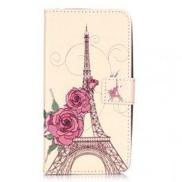 Huawei Y6 Pro Eiffel-torni puhelinlompakko