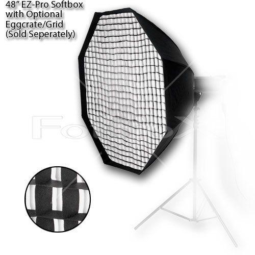 Fotodiox 10SBXAB48OTEZ Pro Studio Solutions EZ-Pro 48-Inch Octagon Softbox with Speedring for Alien Bees/Alienbees (Black) | Studio lighting