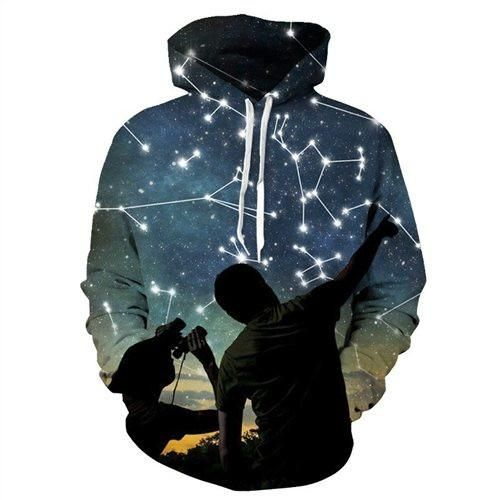 Nightsky Hoodie  3D Printed Clothing/Accessories. FREE Shipping Worldwide!