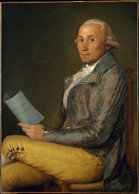 Goya (Francisco de Goya y Lucientes)  (Spanish, Fuendetodos 1746–1828 Bordeaux) by Sebastián Martínez y Pérez (1747–1800), 1792