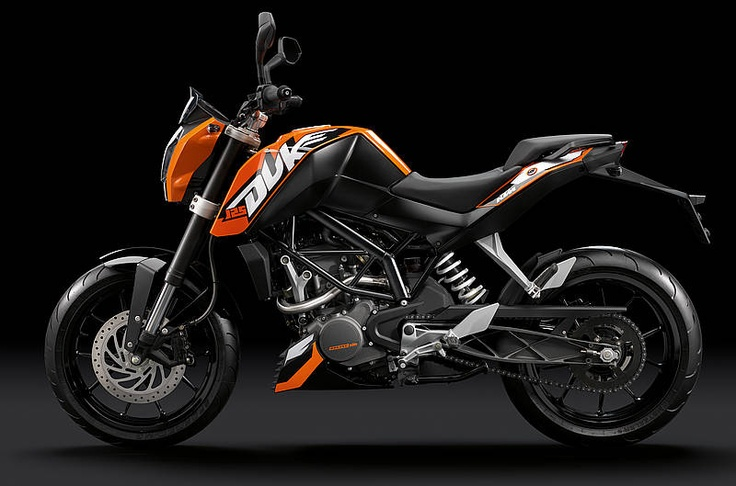 KTM Duke 125 - (www.motorcyclescotland) #Touring #Scotland #LoveMotorcycling)