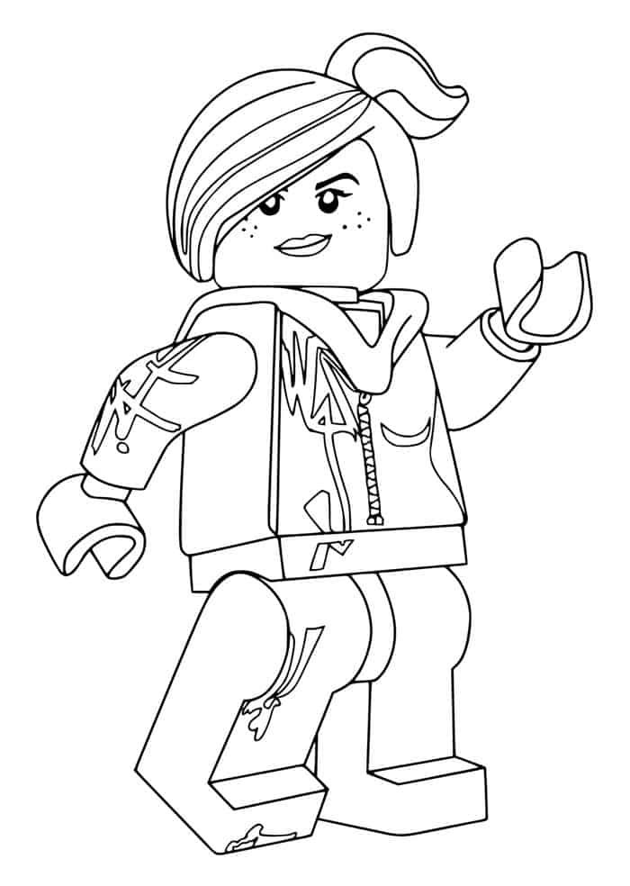 Lego Coloring Pages In 2020 With Images Lego Movie Coloring