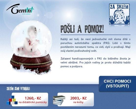 Facebook charity app for Eye clinic Gemini