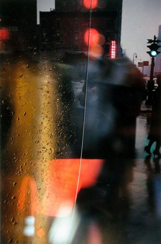 Sobre mojado - Saul Leiter