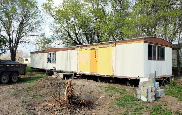 Turning A Trashed Mobile Home Into A Shop Homesteading