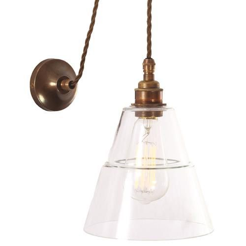 Rigale Coolie Industrial Pulley WALL LIGHT is designed and manufactured in Ireland.