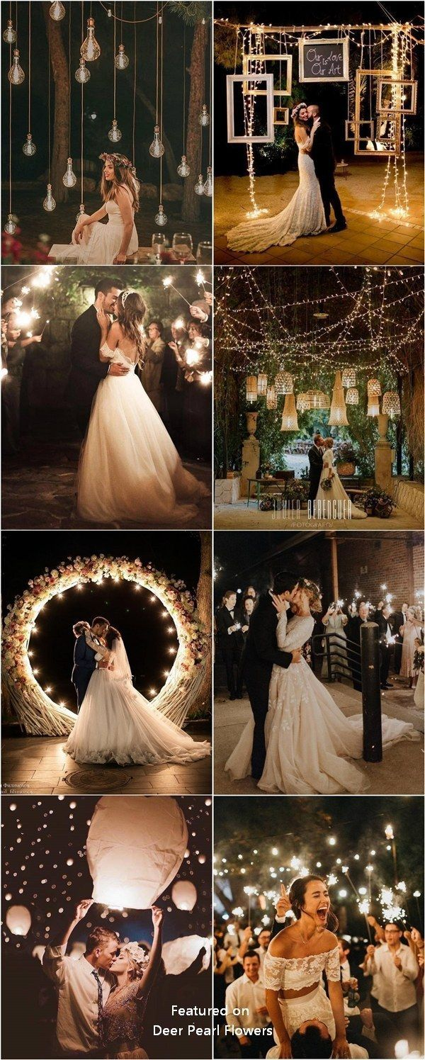 Top 20 Must See Night Wedding Photos with Lights -…