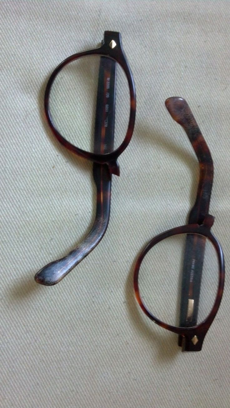 Glasses Frame Broke Off : 17 Best images about Before/After Pictures of Repaired ...