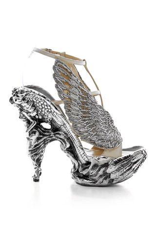alexander mcqueen crystal shoes: Angel Wings, Alexander Mcqueen Shoes, Wings Shoes, Style, Alexandermcqueen, Shoes Design, Heels, Shoes Art, Shoesart