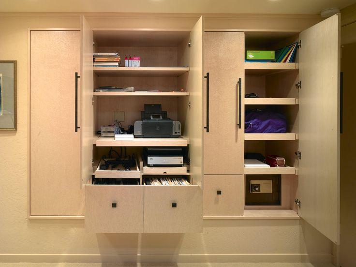 Home Office Cabinet Design Ideas   Home Design