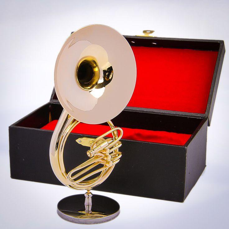 Miniature sousaphone.