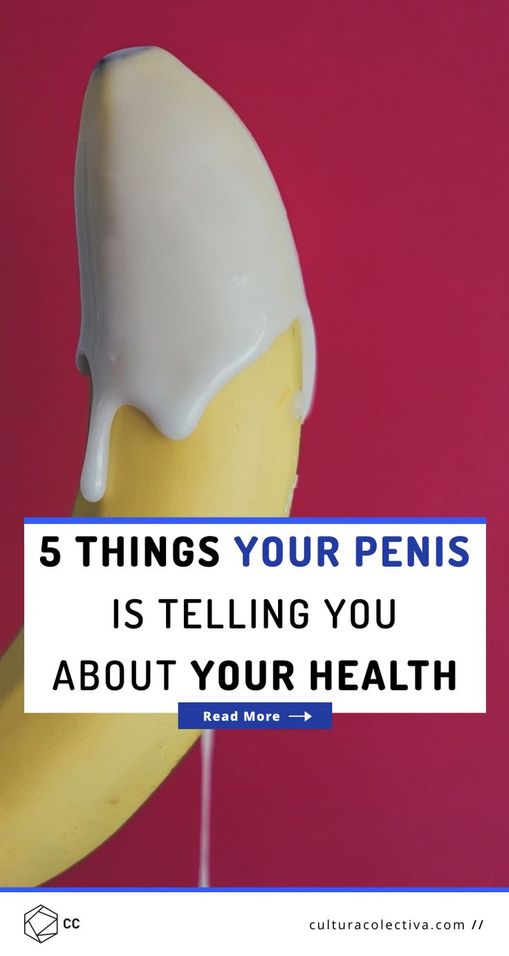 5 Things Your Penis Is Telling You About Your Health  #menshealth