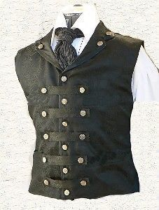 Mens Pure NAPPA LAMB LEATHER Steel Boned MILITARY Style Corset LARP Steampunk