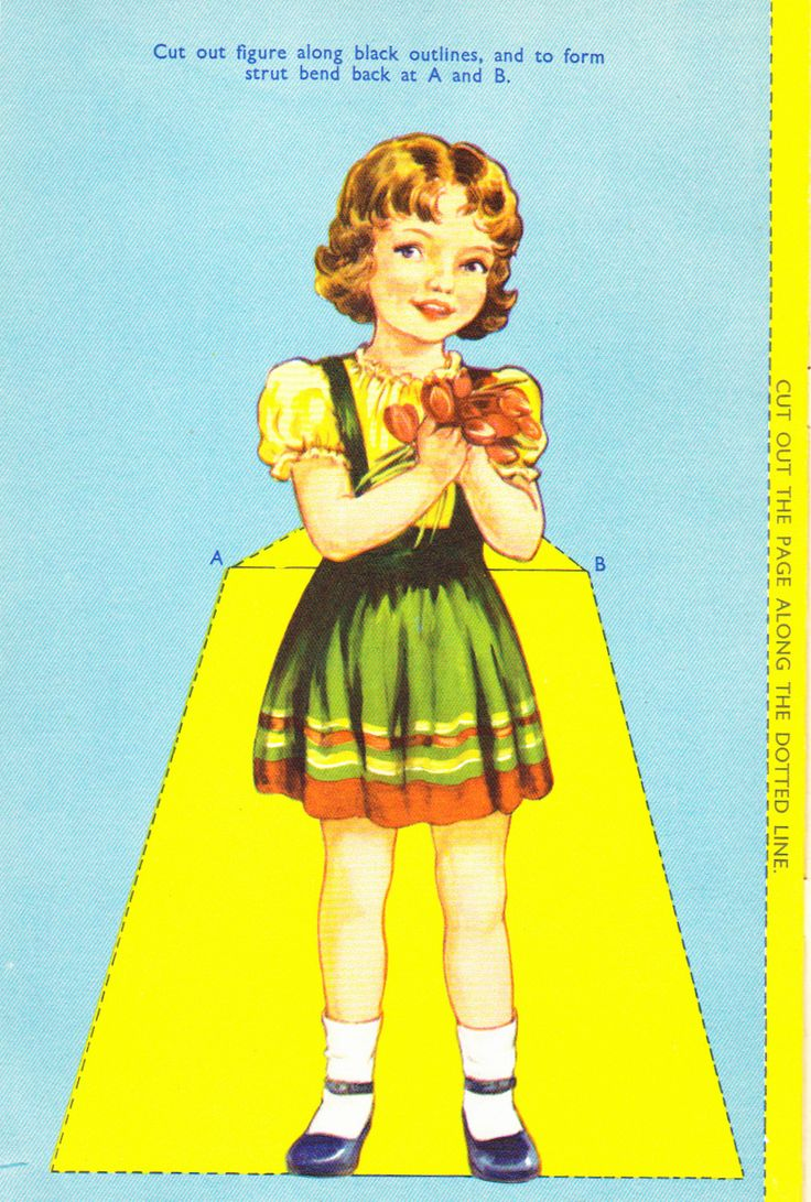 My Doll Dressing Book,  Birn Brothers No. 439