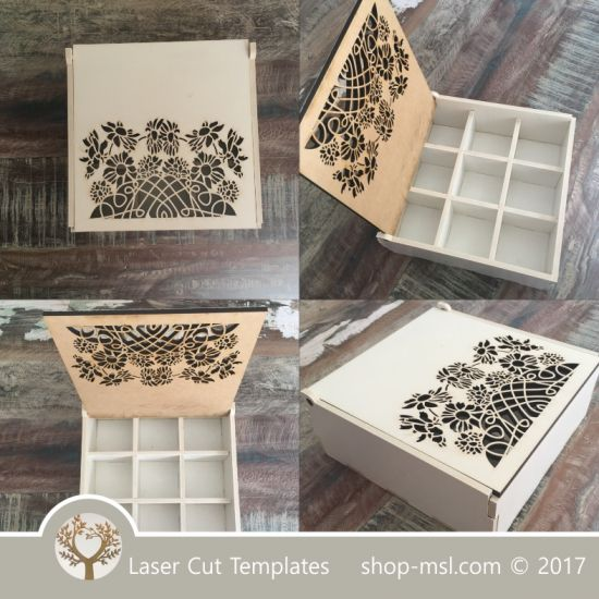 428 best laser cut templates free downloads images on for Laser cut wood box template