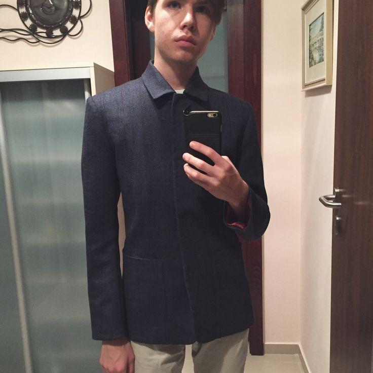 Bespoke wool jacket #fashion #jacket #wool #KRAL #mensfashion