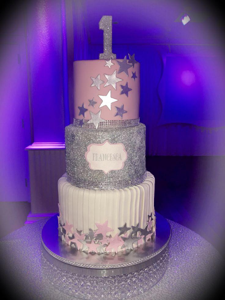 1st Birthday Twinkle Twinkle Little Star Cakes Cake
