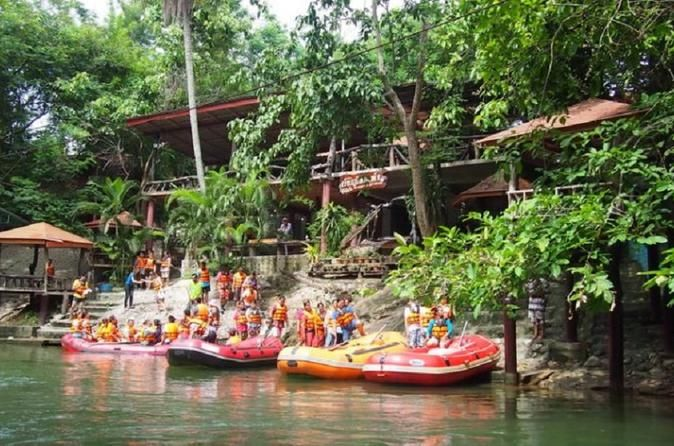 Adventure Rafting Experience at Kaeng Krachan National Park from Hua Hin thailand