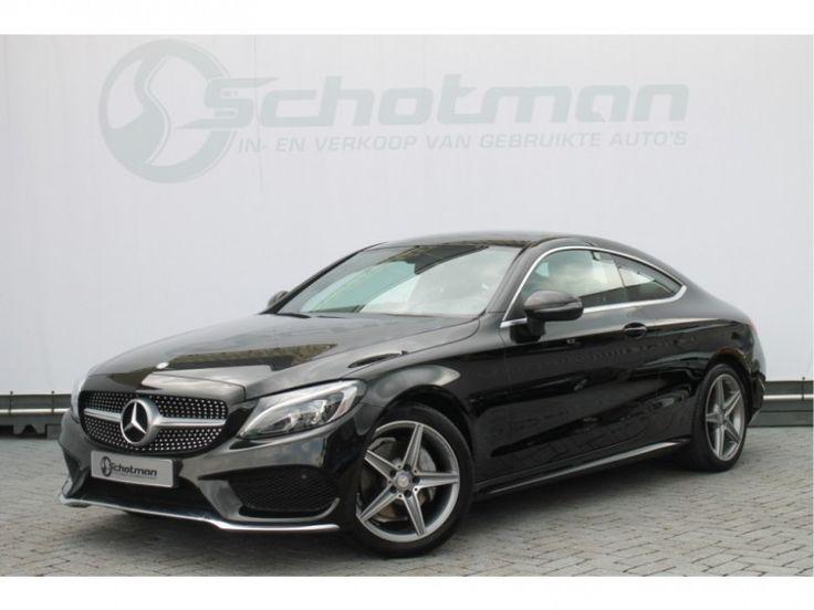 Mercedes-Benz C-Klasse  Description: Mercedes-Benz C-Klasse Coupé220 d Aut9 AMG Line LED Navi 2016 - 5163316-AWD  Price: 637.57  Meer informatie