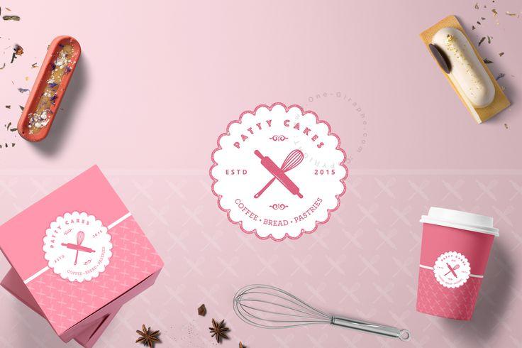 Are you looking for a logo and you're out of time? Customize this logo for your bakery: http://one-giraphe.com/prev.php?c=224   #logo #logostore #brandidentity #logodesign #graphicdesign #designer #bakery #etsy #needlogo #bakery #cake #cupcake #sweet #pink #packaging #designer #logodesign #logodesigner #etsy #behance #apron #whisk #roll #baker #bake #pink #customize #stocklogos #etsylogo #etsydesigner