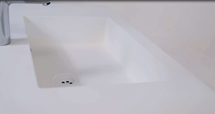 Sinks with a matt surface which we made of cast marble require regular treatments. To make them completely safe for sinks and ensure its attractive appearance free of sediment after the soap and cosmetics stubborn stains, you should follow a few rules. We describe them in a specially prepared film.  Instructional videos in 4 languages can be found on our YouTube channel.