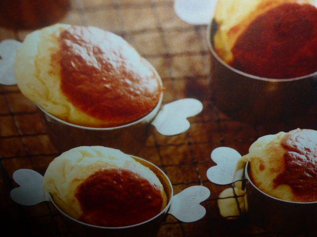 soufflè di formaggio - quark e comté
