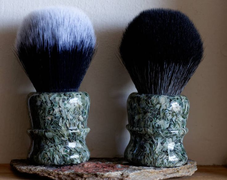 Shaving Brush - Hand-Made with Money Resin Handle and a Choice of Knots by LoveYourShave on Etsy