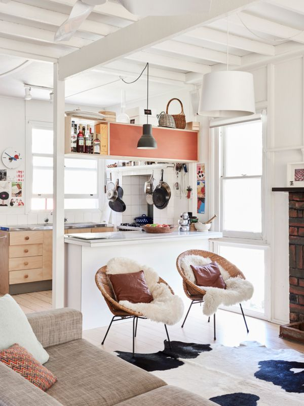 Adorable Aussie beach shack masters cozy, laid-back style - Curbedclockmenumore-arrow : Fun!