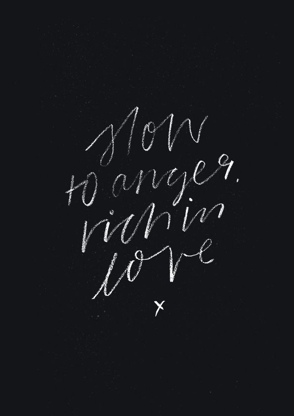 """Slow to Anger, Rich in Love - original print from The Worship Project. Day 10 / 31 #MonthOfPraise Slow to Anger, Rich in Love"""". """"Praise the Lord, my soul; all my inmost being, praise his holy name...."""