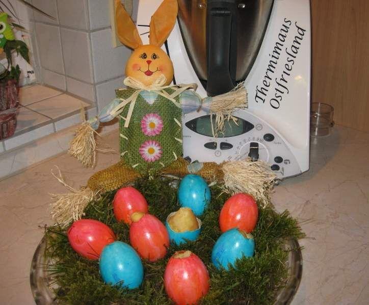Rezept Kuchen im Ei - perfekt zu Ostern von Thermimaus - Rezept der Kategorie Backen süß