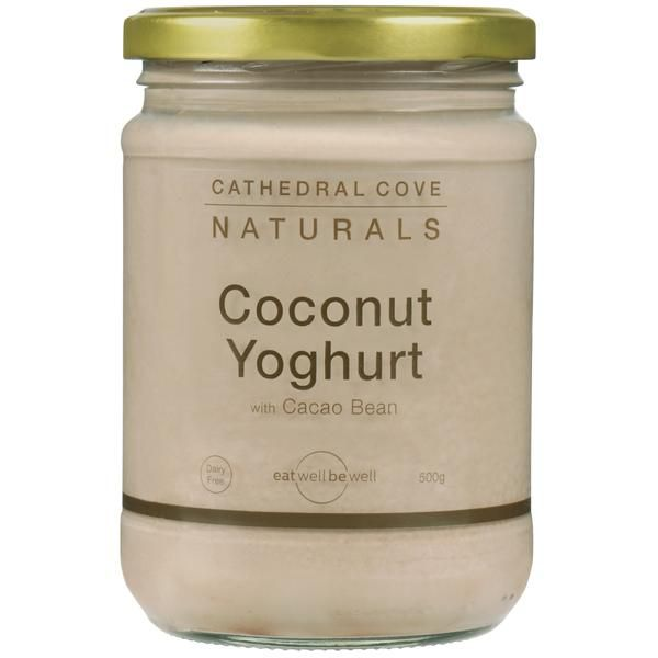 Description Ingredients Nutrition Recipes Find yourselfa jar ofCathedral Cove Naturals' Cacao Bean Coconut Yoghurtat Farro Fresh stores, most New World, Pak'