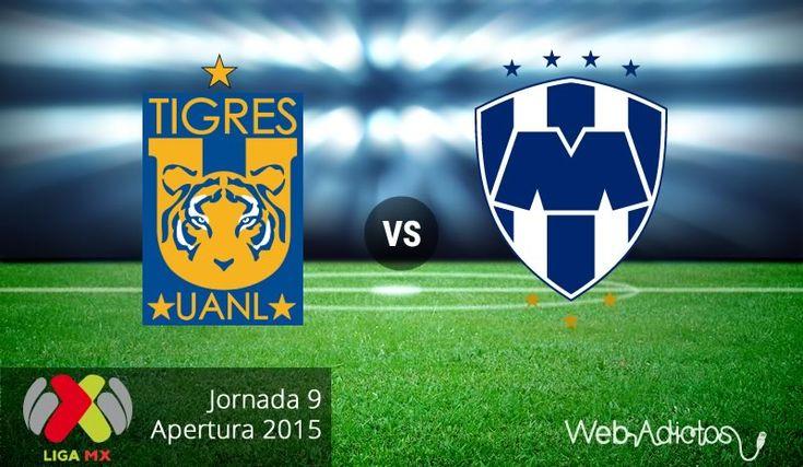 Tigres vs Monterrey, Clásico regio en el AP2015 ¡En vivo por internet! - http://webadictos.com/2015/09/19/tigres-vs-monterrey-clasico-apertura-2015/?utm_source=PN&utm_medium=Pinterest&utm_campaign=PN%2Bposts