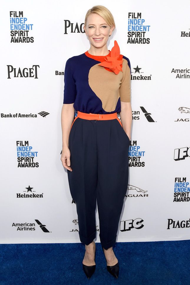 Кейт Бланшетт в Delpozo на бранче номинантов Film Independent Filmmaker Grant and Spirit Award