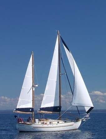 1979 Tayana Staysail Ketch Voile Bateau à Vendre - www.yachtworld.fr