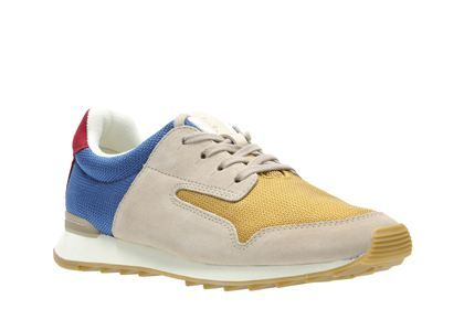 Clarks Floura Mix, Multicolour, Womens Sports Shoes
