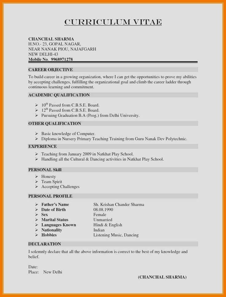50++ What goes on a resume summary Resume Examples