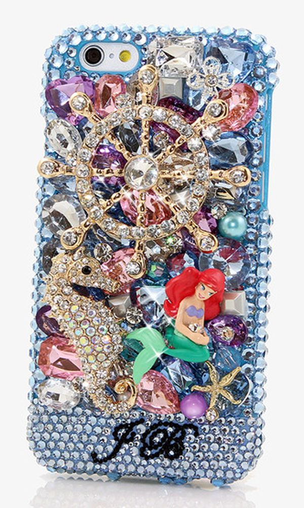The Ocean Personalized Name & Initials crystal bling case cover design made for iPhone 6s Plus, iPhone 4/ 4s, iPhone 5/ 5s/ 5c, Samsung Galaxy S3/ S4/ S5/ S6 Edge, Samsung Galaxy Note 2/ 3/ 4/ 5, LG G Flex, LG Nexus 4 & 5, LG G2, LG G3, Motorola Droid Maxx, Motorola Droid Razr, Motorola MOTO X and for other popular phones/devices. http://luxaddiction.com/collections/personallized-designs/products/the-ocean-personalized-name-initials-design-style-pn_1096