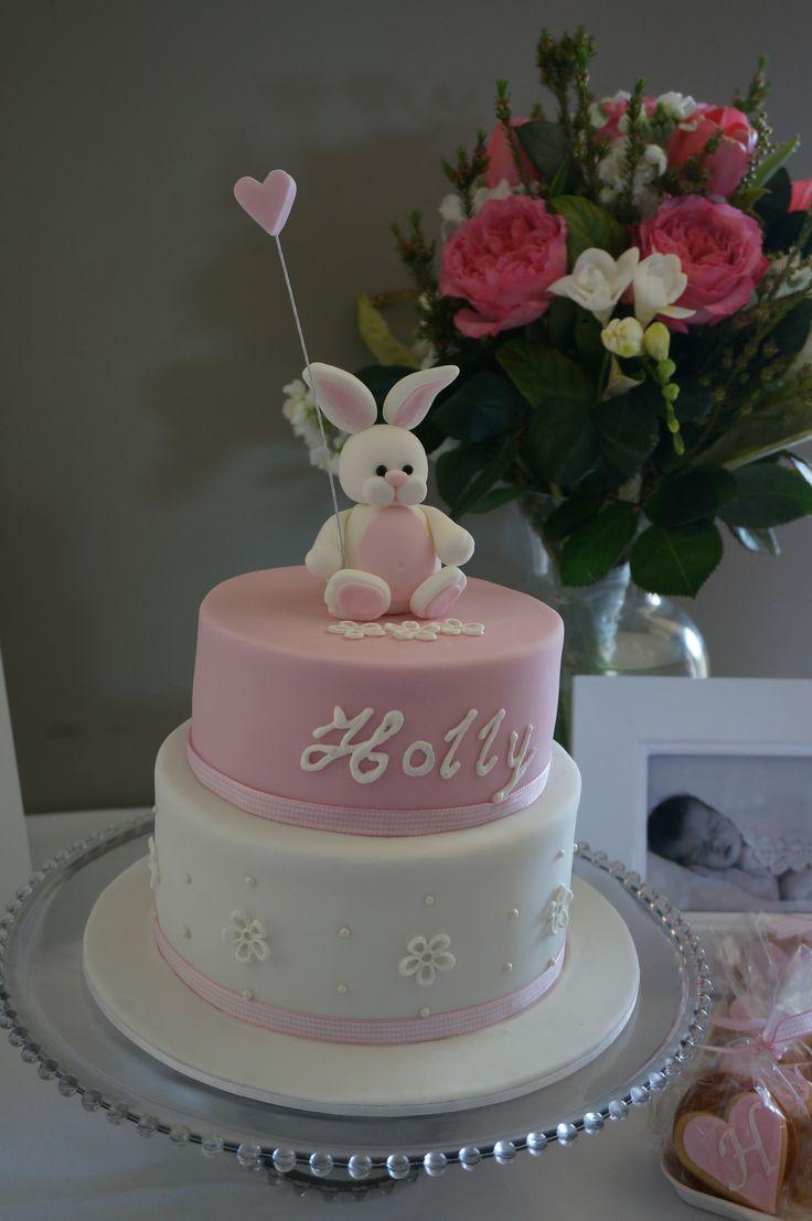 Holly's Christening Cake