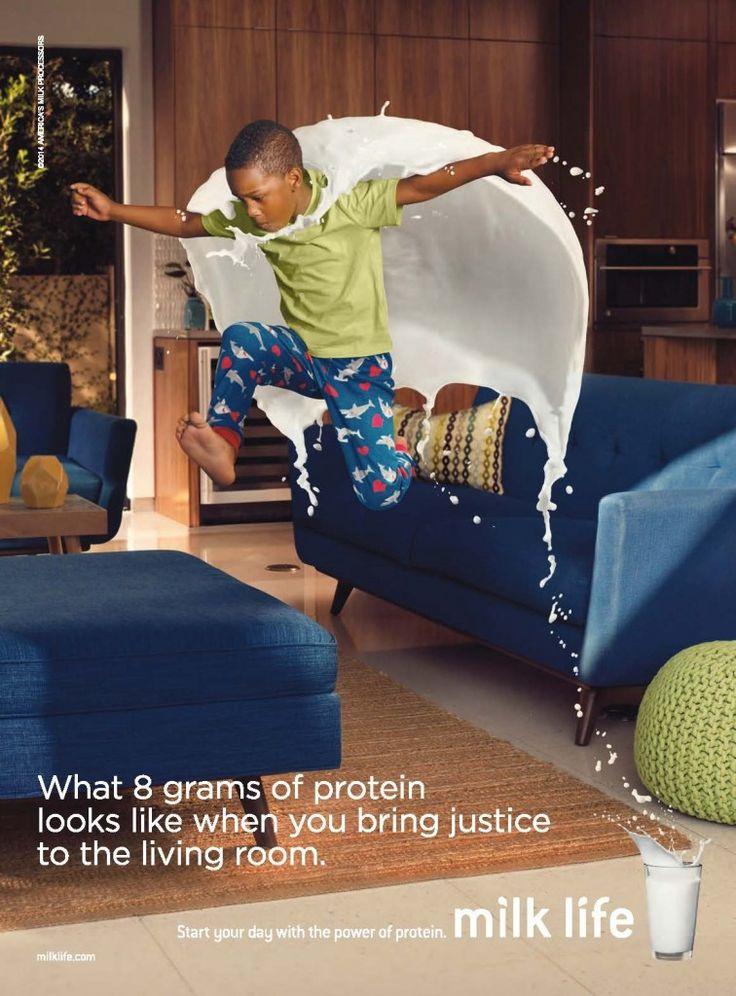 MilkPEP #Milk Life Print Campaign   http://www.gutewerbung.net/milkpep-milk-life-print-campaign/ #Advertising #Splash